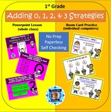 1st Grade Addition Facts 1 - Adding 0, 1, 2, & 3  (powerpo