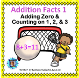 1st Grade Addition Facts 1 - Zero Pattern & Counting on 1,