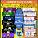 1st Grade Addition Facts Bundle - 6 Powerpoint Lessons & 6