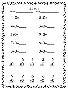 1st Grade Addition Facts Fluency Pack