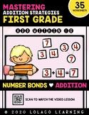1st Grade Addition: (NO PREP) Number Bonds