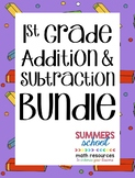 1st Grade Addition & Subtraction Bundle