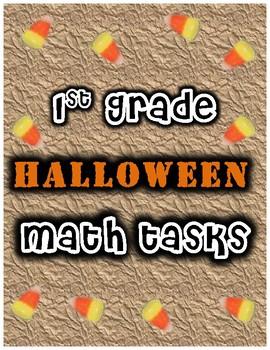 1st Grade Addition & Subtraction (Fall / Halloween)