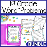 First Grade Addition and Subtraction Word Problem Bundle