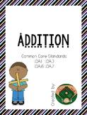 1st Grade Addition Worksheets