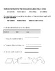 1st Grade Advanced Noun Worksheets
