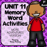 1st Grade More Adventures of the Superkids Memory Word Act