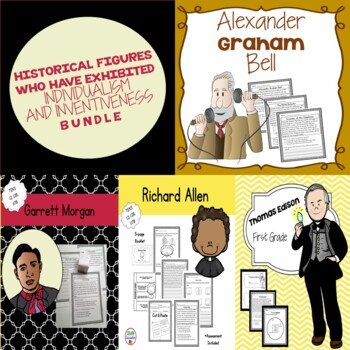 1st Grade: Alexander Graham Bell, Thomas Edison, Garrett Morgan & Richard Allen