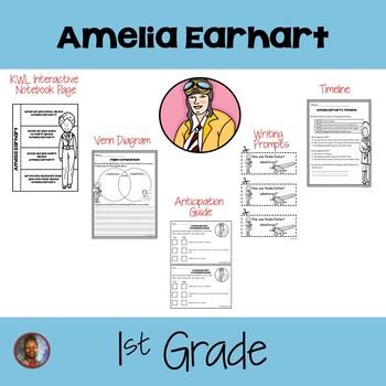1st Grade: Amelia Earhart