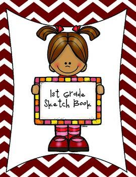 1st Grade Art Sketchbook