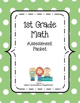 1st Grade Assessment Packet