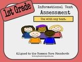 1st Grade Assessment- RI.1.2