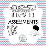 1st Grade Assessments (Language Arts, Writing, and Math)