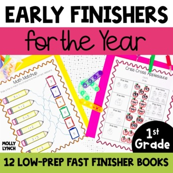 Early Finishers Book for 1st Grade