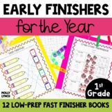 Early Finishers Activities for Fast Finishers in 1st Grade