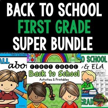 1st Grade Back to School Activities: First Week of School Activities 1st Grade