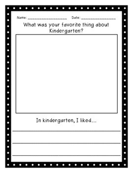1st Grade Back to School Activity Pack