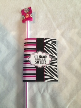 1st Grade Back to School Gift - printable
