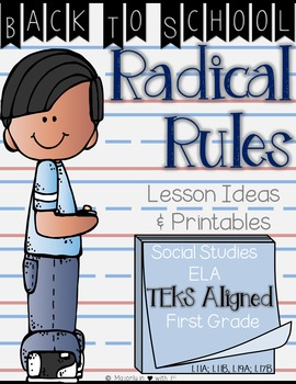 Back to School Radical Rules: Lessons & Printables {TEKS Aligned}