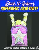 1st Grade Beginning of the Year Flipable Craftivity {Superhero Theme}