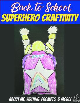 1st Grade Beginning of the Year Flipable Craftivity {Super