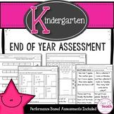 End of the Year Math Assessment {Kindergarten}