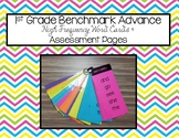 1st Grade Benchmark Advance High Frequency Word List and A