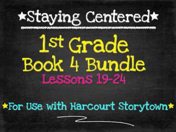 1st Grade Book 4 Bundle   Harcourt Storytown Lessons 19-24