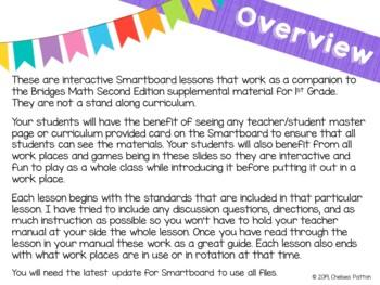 1st Grade Bridges Math Smartboards Unit 2, Module 4 Counting by Fives & Tens