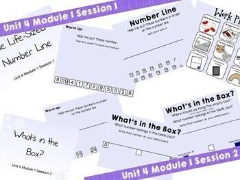1st Grade Bridges Math Smartboards Unit 4, Module 1 Add & Subtract Number  Line