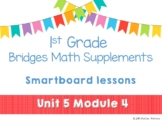 1st Grade Bridges Math Smartboards Unit 5, Module 4 Sorting & Graphing Shapes