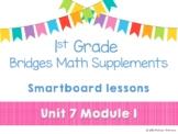 1st Grade Bridges Math Smartboards Unit 7 Module 1 Grouping Sticks & Bundles