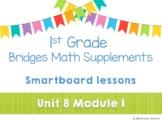 1st Grade Bridges Math Smartboards Unit 8, Module 2 Patterns, Structure & Change