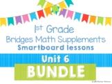 1st Grade Bridges Math Unit 6 Figure Facts w/ Penguins Smartboard lessons BUNDLE