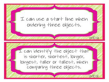 "1st Grade CCSS ELA & Math ""I Can"" Statements (Scribble Theme)"
