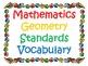 1st Grade CCSS Math Vocabulary Cards Set 2