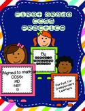 1st Grade CCSS Spring Math Review