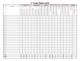 1st Grade CCSS Report Card Spread Sheet