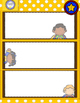 1st Grade CCSS Vocabulary Wall STARTER and Instructions-- Word Lists Included!