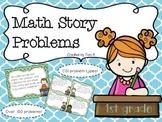 1st Grade CGI Problems - Various Problem Types