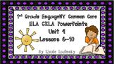 CKLA EngageNY First Grade Skills Unit 4 Lessons 6-10