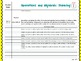 1st Grade Common Core Math Standards Guide and Assessment Checklist