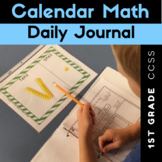 Calendar Math Daily Journal {CCSS 1st Grade}