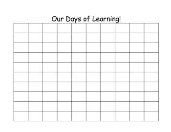 1st Grade Calendar Notebook
