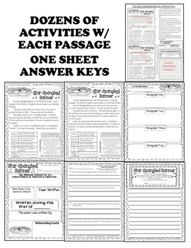 """""""1st Grade Can U Dig It"""" September Close Reading Leveled Passages & Activities"""