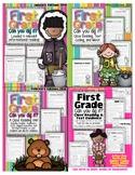 "1st Grade ""Can You Dig It"" BUNDLE of 4 Units Close Reading Jan thru April"