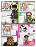 """1st Grade Can You Dig It """"FULL YEAR"""" Close Reading 4 Star BUNDLE"""