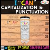1st Grade Grammar Game   Capitalization & Punctuation