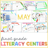 1st Grade Centers for May