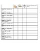 1st Grade Chapter 3 Go Math Teacher Checklist and Self Assessment